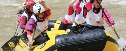 Stay & Play Rafting