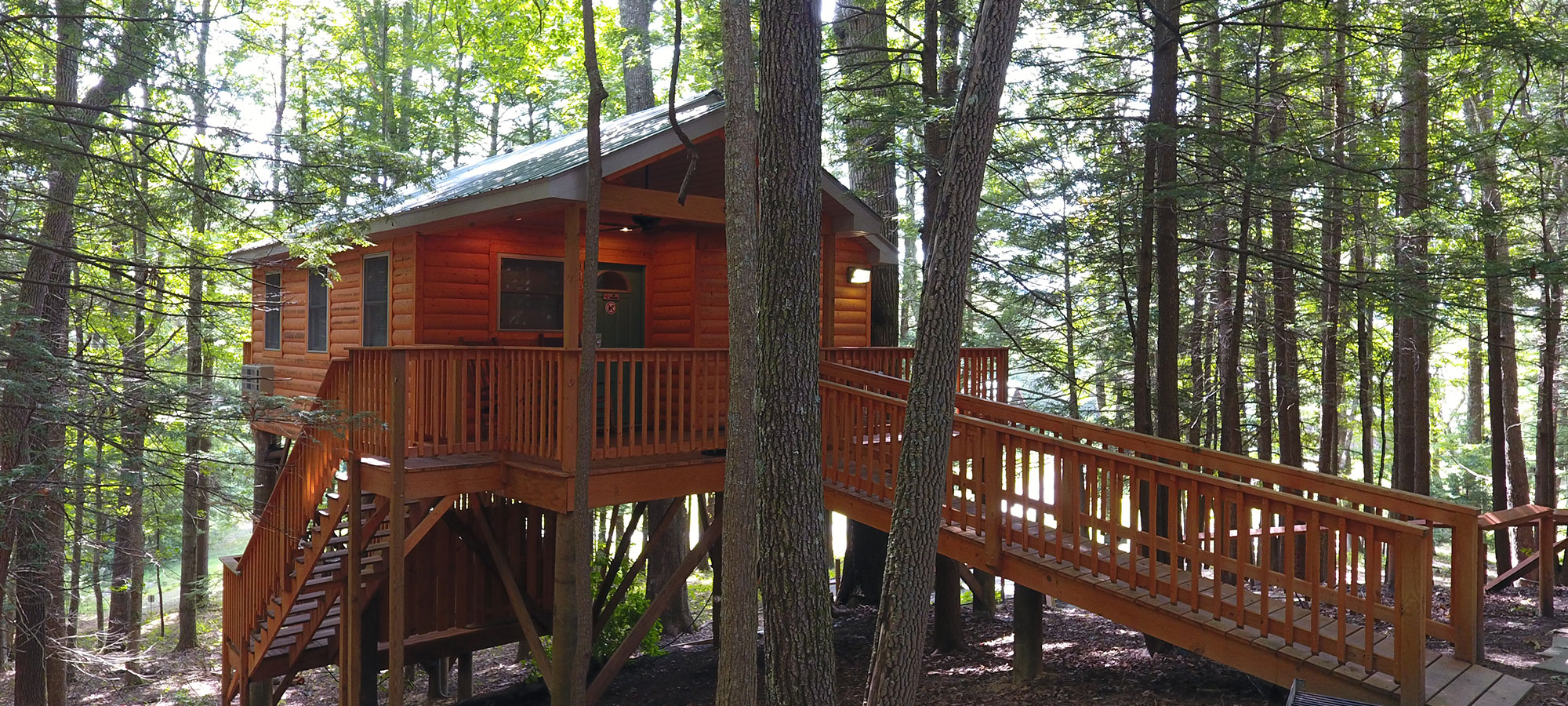 Wv S Grand View Treehouse The Cabins At Pine Haven