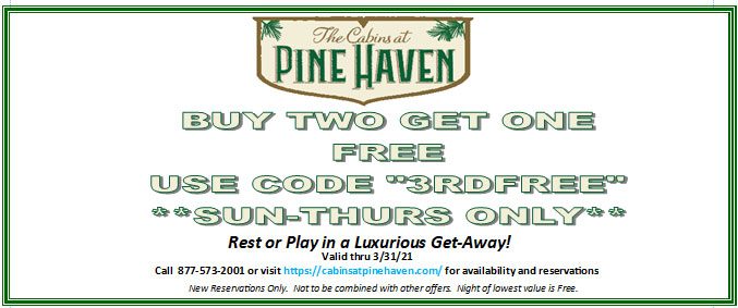 """Buy Two Get One Free Use Code """"3RDFREE"""" Sun-Thurs Only"""